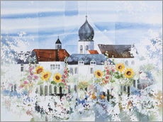Wall sticker  Monastery Garden - Franz Heigl