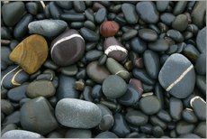 Gallery print  Pebbles on a beach - Keith Wheeler
