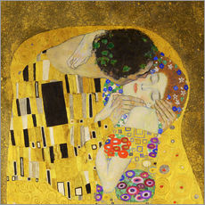 Gallery print  The Kiss (detail cross) - Gustav Klimt