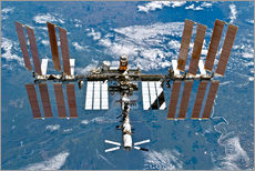 Gallery print  International space station - NASA