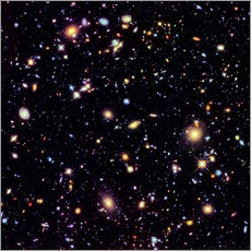 Wall sticker  Hubble Extreme Deep Field - Nasa