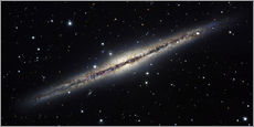 Wall sticker  Spiral galaxy NGC 891, optical image - Robert Gendler