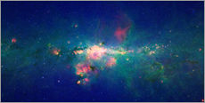 Gallery print  Milky Way (infrared image) - NASA