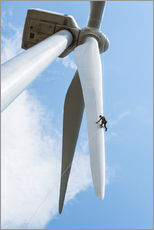 Wall sticker  Wind turbine inspection - Dennis Schroeder