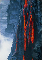 Wall sticker  Lava flow - G. Brad Lewis