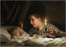 Gallery Print  Young mother - Albert Anker