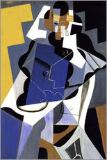 Wall sticker  Seated Woman (Mujer sentada) - Juan Gris