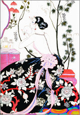 Gallery print  The Backless Dress - Georges Barbier