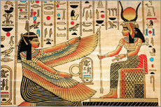 Gallery print  Papyrus with Egyptian characters
