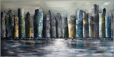 Gallery print  Skylines at night II - Theheartofart Gena