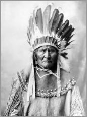 Gallery print  Native American chief