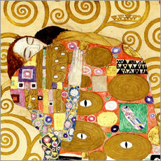 Wall sticker  The hug - Gustav Klimt