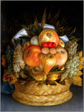 Wall sticker  Portrait of a man from fruits - Giuseppe Arcimboldo
