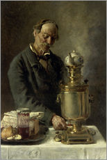 Gallery print  At the samovar - Konstantin Jegorowitsch Makowski