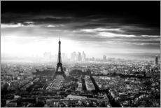 Wall sticker  Paris skyline - Jaco Marx