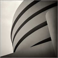 Wall sticker New York City - Guggenheim Museum (Analogue Photography)