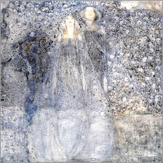 Wall sticker  Silver Apples - Margaret MacDonald Mackintosh