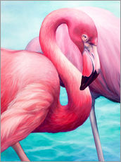 Gallery print  Flamingo - Renate Berghaus