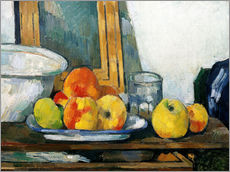 Wall sticker  Still life with open drawer - Paul Cézanne