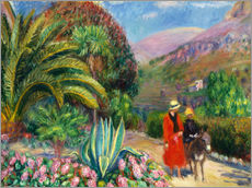 Gallery print  Nachmittag in der Provence. - William James Glackens