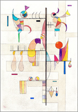 Wall Stickers  distribution - Wassily Kandinsky
