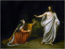 Wall sticker  Christ's Appearance to Mary Magdalene after the Resurrection - Aleksandr Andreevich Ivanov