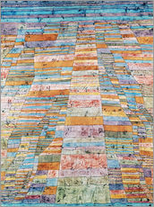 Gallery print  Main path and Byways - Paul Klee