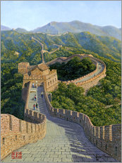 Wall sticker  Great Wall of China   Mutianyu Section 1 - Richard Harpum