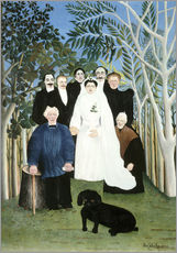 Gallery print  A wedding in the countryside - Henri Rousseau