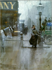 Gallery print  Impressions from London - Anders Leonard Zorn