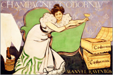 Wall sticker  Champagne Codorníu - Ramon Casas i Carbo