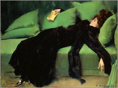 Gallery print  After the ball - Ramon Casas i Carbo