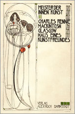 Wall sticker  House of an art lover: Cover - Charles Rennie Mackintosh