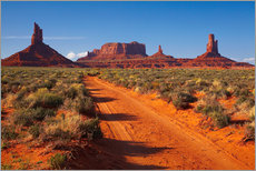 Wall sticker  Red Monument Valley - David Wall