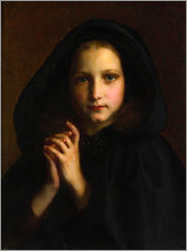 Wall sticker  Girl with a cape - Etienne Adolphe Piot