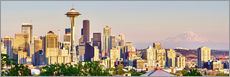 Wall Stickers  Seattle Skyline II - Rainer Mirau