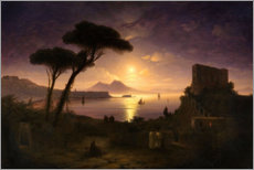 Canvas print  Bay of Naples - Ivan Konstantinovich Aivazovsky