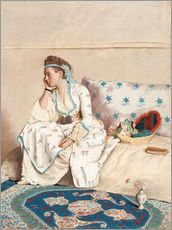 Wall Stickers  Portrait of Marie Fargues - Jean Etienne Liotard