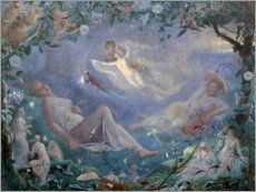 Premium poster  Scene from a midsummer night's dream - John Simmons