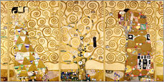 Wall Stickers  The Tree of Life (Complete) - Gustav Klimt