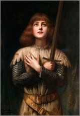 Wall sticker  Joan of Arc - Paul Antoine de la Boulaye