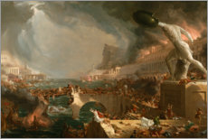 Wall sticker  Fall of Rome (Destruction) - Thomas Cole