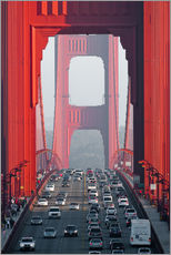 Gallery print  Golden Gate Bridge, San Francisco, USA - Peter Wey