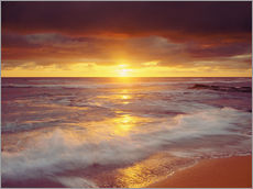 Gallery print  California - Sunset on the Pacific - Jaynes Gallery