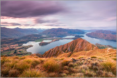 Gallery print  Wanaka lake, New Zealand - Matteo Colombo