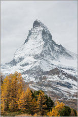 Wall sticker  Matterhorn from Riffelalp, Zermatt, Switzerland - Peter Wey