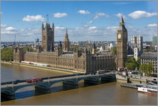 Gallery print  Westminster Bridge with Houses of Parliament - Walter Rawlings