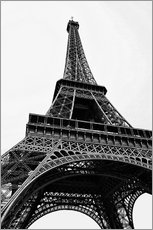 Gallery print  eiffel tower - Claudia Moeckel
