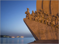 Gallery print  Monument to Discoveries, Belem, Lisbon, Portugal, Europe - Angelo Cavalli