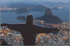 Gallery print  Christ the Redeemer, Corcovado - Angelo Cavalli